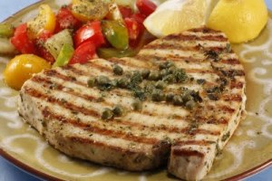 Chef Chuck's Grilled Swordfish13